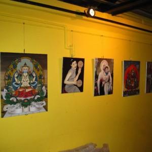 Art Gallery AlleyCat Pizza Taipei Huashan