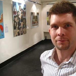 Derek Murphy Art Surrealism Oil Paintings
